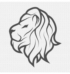 Lion symbol logo emblem vector