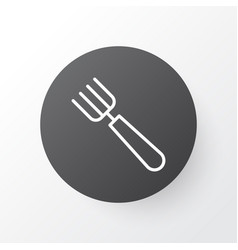 pitchfork icon symbol premium quality isolated vector image vector image