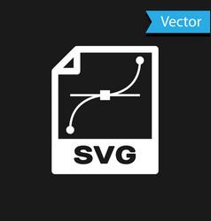 White svg file document icon download svg button vector