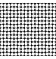 Geometric seamless fabric pattern vector image vector image
