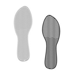 prints rough shoe flat style vector image vector image