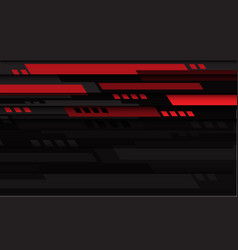 abstract red black geometric speed technology vector image
