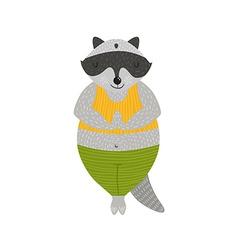 Animal yoga vector image