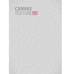 Canvas thread fabric pattern texture A4 background vector image