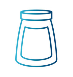 Coffee ground jar vector