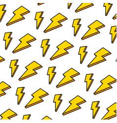 color nice light thunder art background vector image