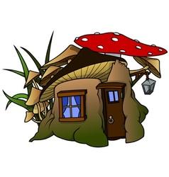 Elf house vector