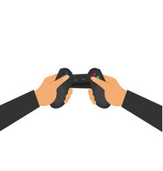 Flat video game vector