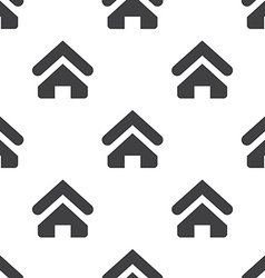 Home seamless pattern vector image