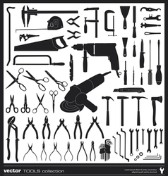 Tools silhouettes vector