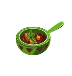 Traditional Mexican Soup vector