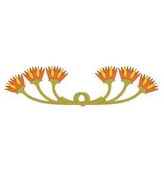 egyptian national ornament vector image