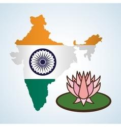India design culture icon isolated vector