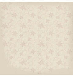 Old Ornamental Paper Background vector image