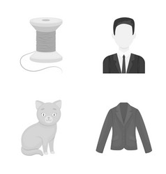 fashion business hairdresser and other web icon vector image