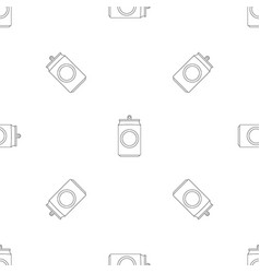 drink can pattern seamless vector image