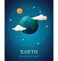 Earth planet vector