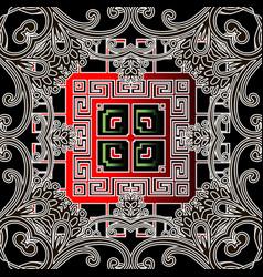 geometric greek ethnic style seamless vector image