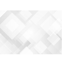 Geometric white background abstract white pattern vector