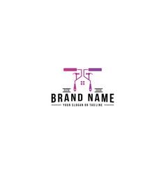 Home logo repair vector