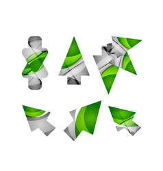 icon arrow mouse pointer or directional vector image vector image