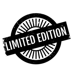Limited edition stamp vector