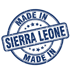 Made in sierra leone vector