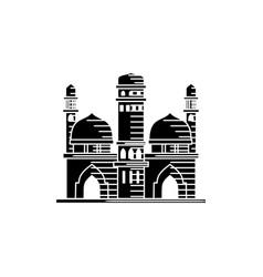 mosque icon design template vector image