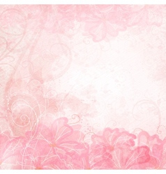 Romantic Background vector image