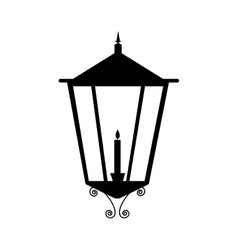 Street lamp icon image vector