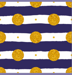 Tile pattern with sailor blue and white stripes vector