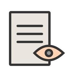 View Document vector