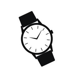 Wrist watch icon vector