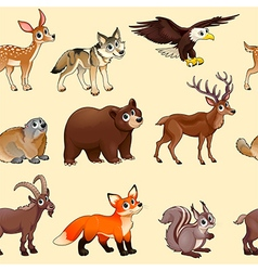 Animal Pattern vector image vector image
