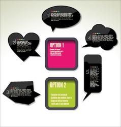Modern design background vector image