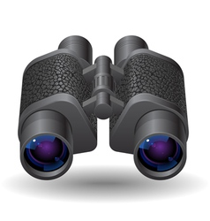 Icon for binoculars vector image