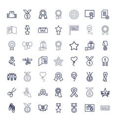 49 ribbon icons vector