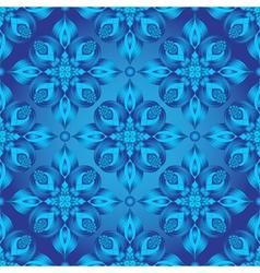 Bright blue gradient seamless pattern vector