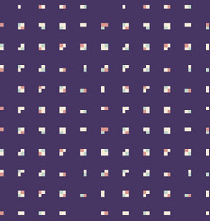 pattern tetris squares vector image