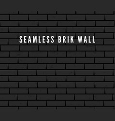 seamless brick wall surface old grey brick wall vector image