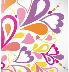 Abstract colorfull background vector image