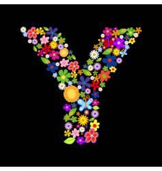 y vector image vector image