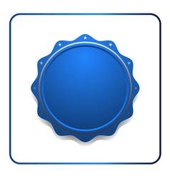 Seal award blue icon vector image vector image