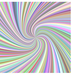 Abstract swirl background - from rotated rays in vector
