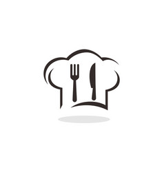 chef restaurant logo vector image
