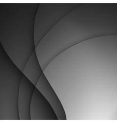 Dark gray elegant business background vector image