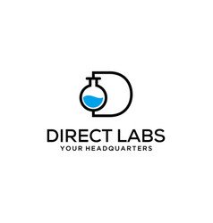 direct labs vector image