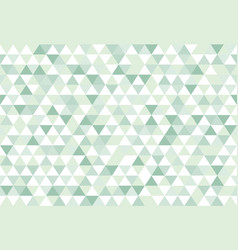 green nature colorful abstract triangles retro vector image