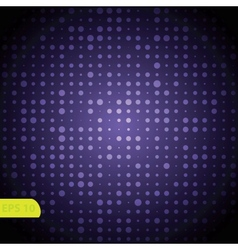 Blue lights background vector image vector image