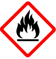 new safety symbol vector image vector image